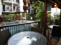 Swimming Pool & BBQ Facilities - Bay Villas Resort Port Douglas