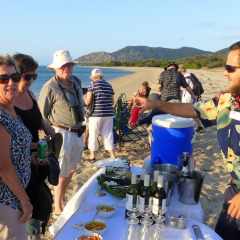 BBQ On The Beach On Stanley Island