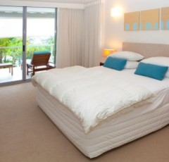 Beachfront Apartment - Bedroom at Drift Apartments Palm Cove