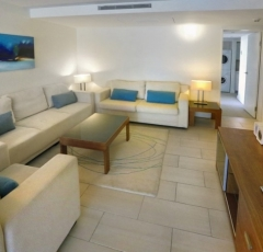 Beachfront Apartment - Living Area at Drift Apartments Palm Cove