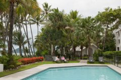Beachfront Pool at Alamanda Palm Cove Private Apartment