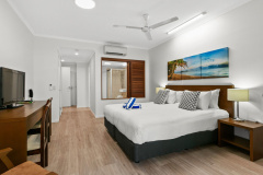 Beachfront Studio Spa Rooms available at Amphora Private Apartments Palm Cove | Palm Cove Beach Accommodation