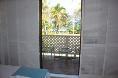 Ocean Views from the Master Bedroom (Oceanview Apartment) Beachfront Terraces Port Douglas