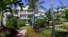 Beautiful Gardens at Cairns Beach Resort