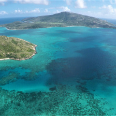 Beautiful Lizard Island Group From the Air - Helicopter Charter