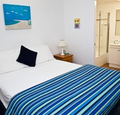 Bedroom - The York Beachfront Apartments
