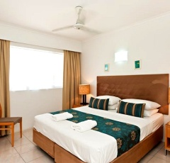 Bedroom at Agincourt Beachfront Holiday Apartments