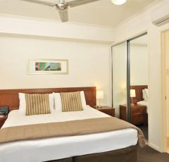 Bedroom Area - 1 Bedroom Apartment - Mantra Aqueous Port Douglas Holiday Accommodation