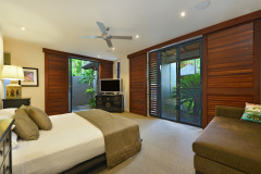 Bedroom One - King Bed  Port Douglas Luxury Holiday Home