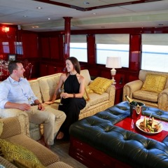 Best Private Charter Boat in Port Douglas | Versace Interior