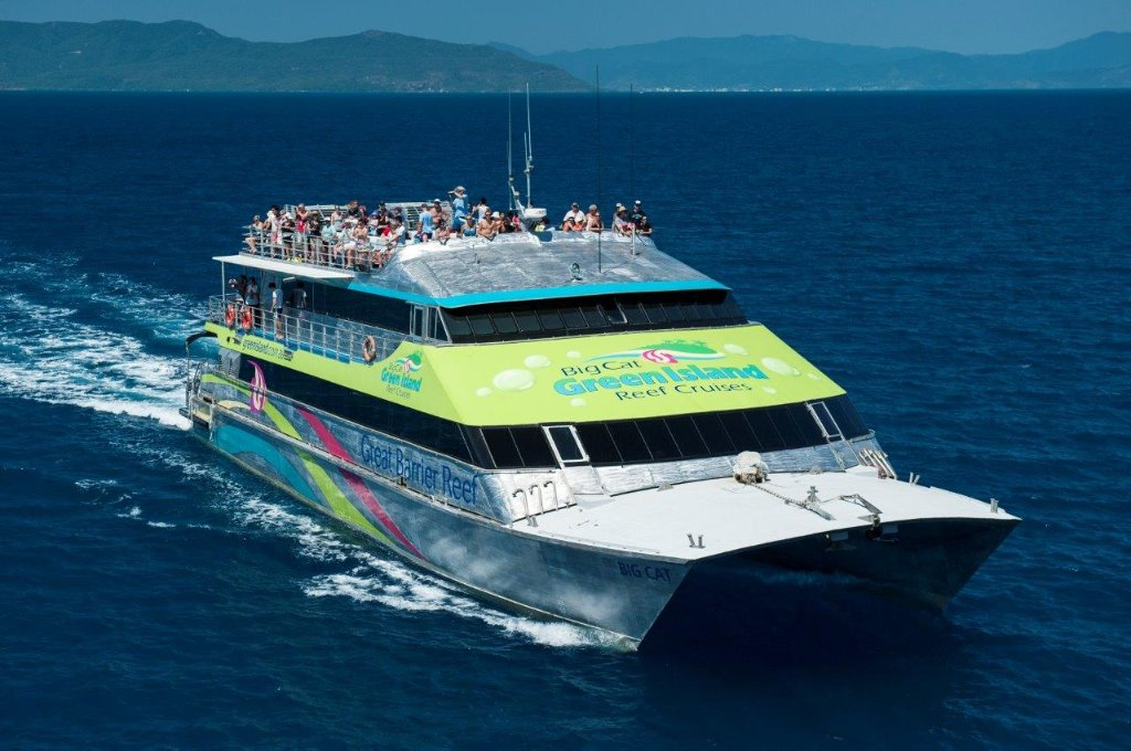 Image result for big cat green island cruise