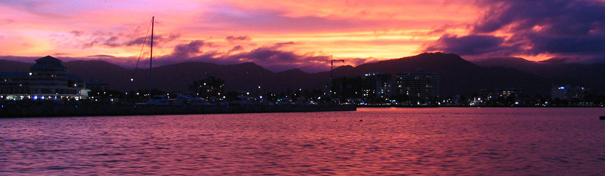 Beautiful Sunset Harbour Cruises in Cairns Queensland Australia