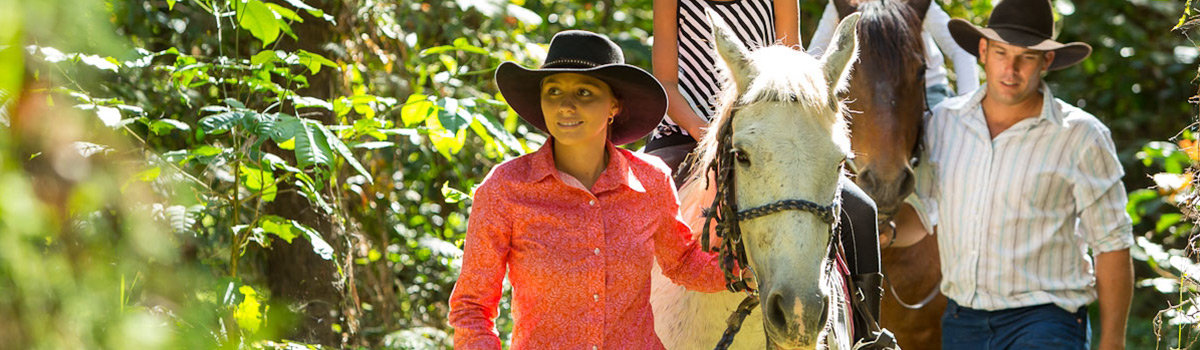 Cairns Horse Riding Blazing Saddles