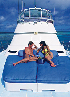 Book a private charter yacht for your wedding in Port Douglas