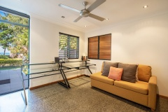 Bramston Beachfront Holiday Home | Study with Sofa bed/4th bedroom