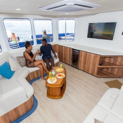 Brand New Boat In Cairns | Full Day Or Half Day Reef Trip | Gold Class Lounge
