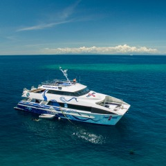 Brand New Scuba Diving Boat | Great Barrier Reef Diving Day Trip | Ex Cairns
