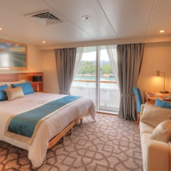 Bridge Deck Balcony | Coral Discoverer
