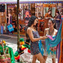Browse the shops and markets in the village of Kuranda