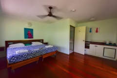 Budget Double Room at Ferntree Rainforest Lodge in the Daintree National Park