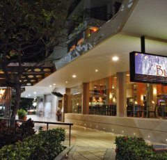 Bushfire Flame Grill Restaurant located on Cairns Esplanade - Pacific Hotel Cairns