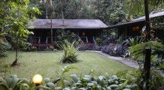 Holiday Cabin Exterior at Heritage Lodge Spa Daintree Cape Tribulation