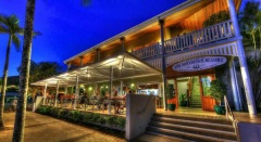 Cafe & Bar at Sovereign Resort Cooktown