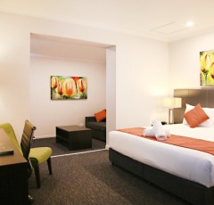 Cairns Accommodation Big Hotel Rooms | The Abbott Hotel Cairns