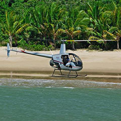 Cairns accommodation helicopter transfers