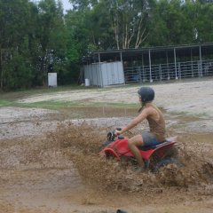 Cairns ATV and quad bike tours are fun in the mud