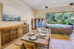 Open plan living | Cairns Beach Palm Cove Holiday House