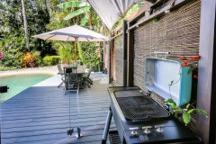 Outdoor BBQ facilities | Cairns Beach Palm Cove Holiday House