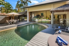 Relax by your own private Swimming Pool | Cairns Beach Palm Cove Holiday House