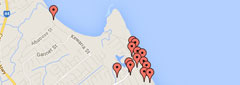 Cairns Beaches Map Accommodation