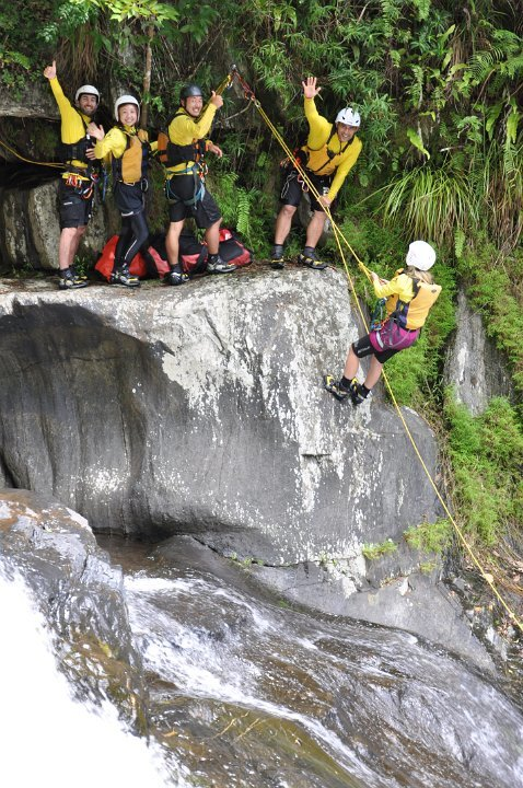 Cairns Canyoning - Photo Courtesy of Raging Thunder