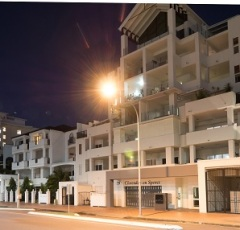 Cairns City Holiday Apartments Night View