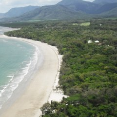Cairns Coastline view on Helicopter Scenic Flight