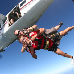 Cairns Combo Tour - Skydive and Rafting
