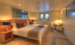 Cairns Cruise Ship Tours - Main Deck Stateroom - A