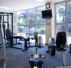 Cairns DoubleTree Hilton Gym available 24hours