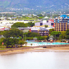 Great Barrier Reef Tour | Ariel View Cairns Esplanade Lagoon