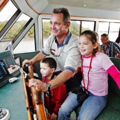 Cairns Family Harbour Cruise | Kids At The Wheel