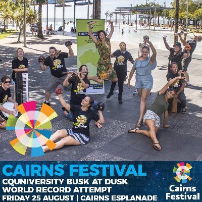 Cairns Festival | Busk At Dusk World Record Attempt | Fri 25th August 2017