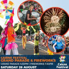 Cairns Festival Friday 25th August to Sunday 3rd September 2017