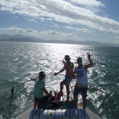 Relaxing After A Full Day Fishing On A Private Charter From Cairns | Great Barrier Reef Fishing