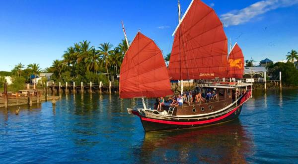 Cairns Harbour Cruise - Chinese Junk Boat