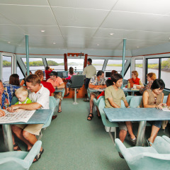 Cairns Harbour Cruise | Upstairs Interior