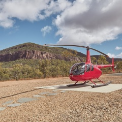 Cairns Helicopter Flight to Mount Mulligan Outback Retreat