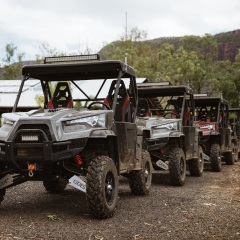 Cairns Helicopter Flight to Mount Mulligan - ATV Tours