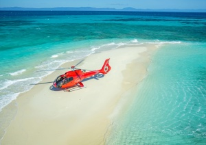 Cairns Helicopter Flights - Exclusive Sand Cay Flights - Snorkel Tours